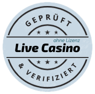 Geprüft und verifiziert von LiveCasinoOhneLizenz